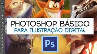 PHOTOSHOP Básico - Ilustração + BRUSH PACK