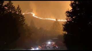 Merrill Fire: Sanders Ranch residents evacuated as Moraga blaze spread