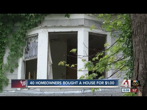40 homeowners buy houses for $1