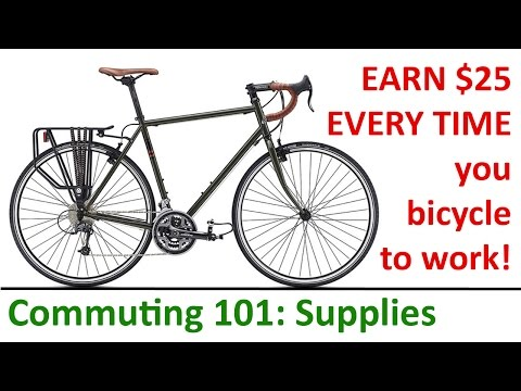 Bicycle Commuting 101: Supplies and Savings