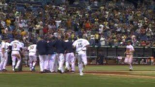 MLB: CLE@TB: Pena hits a walk-off three-run homer