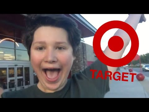 TARGET WITH ZACH! *GOT KICKED OUT!*