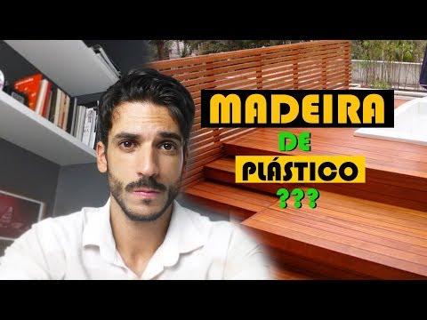 MADEIRA FEITA E PLÁSTICO ???