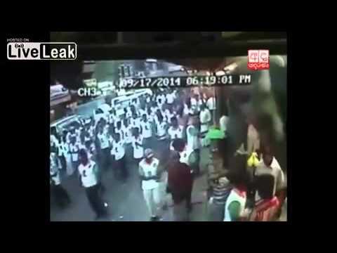 פיגוע דריסה המוני בהפגנה