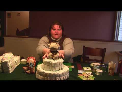 Diaper Cake (Toy Theme)