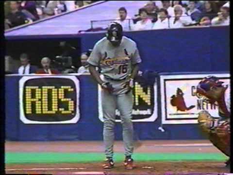 RENE AROCHA 1993 cardinals vs expos