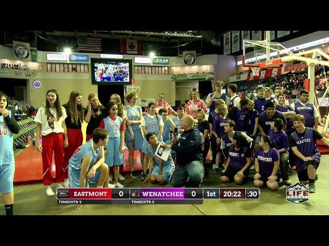 Wenatchee vs Eastmont Unified Basketball 2020-01-10