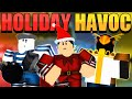 HOLIDAY HAVOC EVENT IN ARSENAL/CASE OPENING! (Arsenal Roblox)