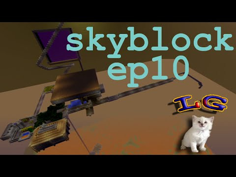 SKYBLOCK EP10: Trading post and brainstorm