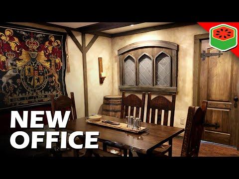 I Turned My Office Into A Medieval Tavern (Setup Tour)