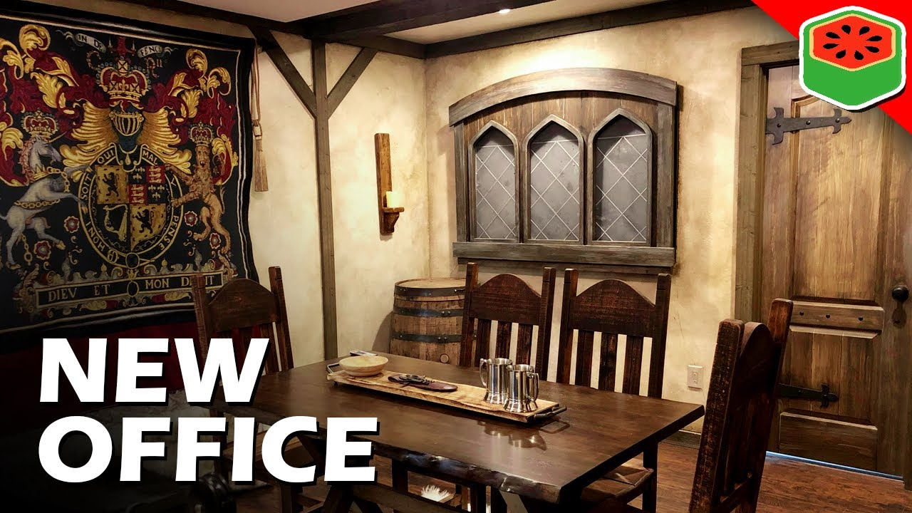 I turned my office into a Medieval Tavern (Setup Tour)