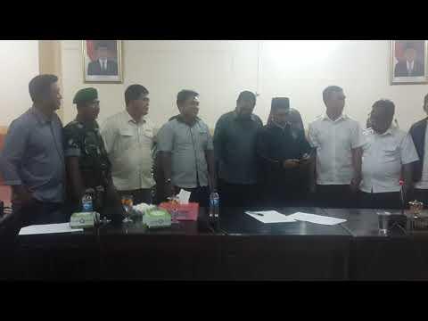 PT. Kalimantan Agro Pusaka Penuhi Tuntutan Masyarakat Dgn Menandatangani Notulen Kesepakatan.