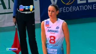 Волейбол Женщины ЛЧ 3 тур Црвена Звезда Динамо М  26 11 2013