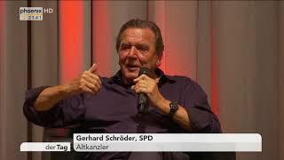 Wahlkampfauftritt von Gerhard Schröder am 30.08.17