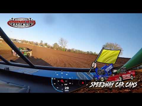 #08 Wyatt Sopha - Sharp Mini Late Model - 4-20-19 Springfield Raceway - In Car Camera