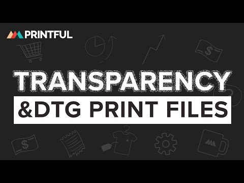 Printful - Transparency in printfiles