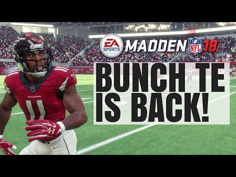 Beating All Defenses With Bunch TE In Madden 18