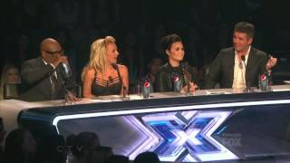 Demi Lovato and Simon Cowell 16 - The X Factor US LEGENDADO