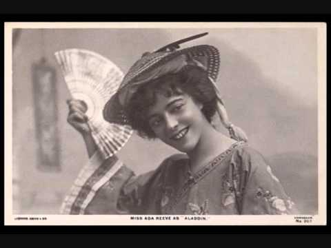 Music Hall & Gaiety star Ada Reeve sings