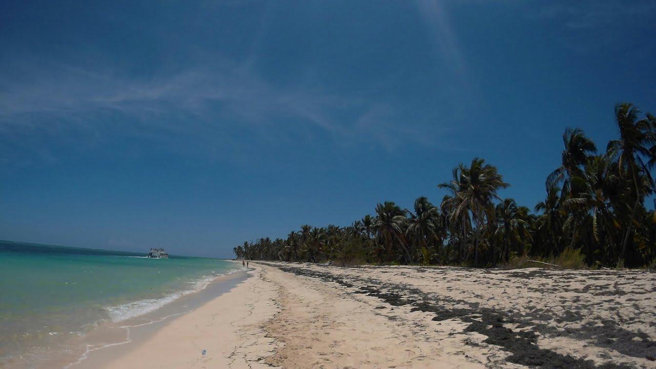 Доминикана. Пунта Кана. Дикий пляж. Вот где надо проводить отдых зимой