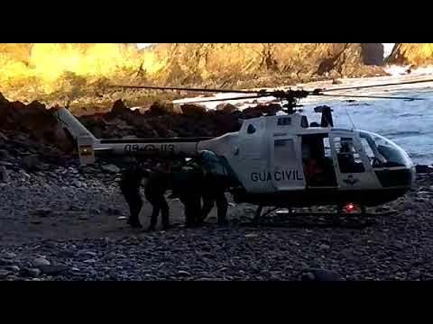 Rescatan el cadáver de un vecino de Tapia que fue a recoger crustáceos pese a la alerta roja