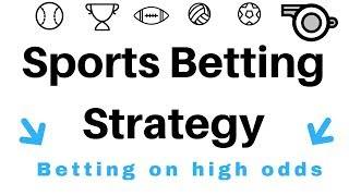 sports betting strategies - betting strategy ( Value betting )