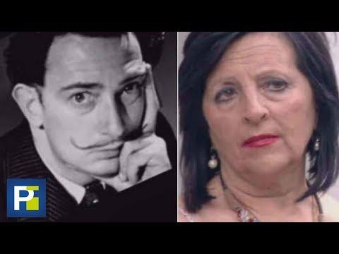¿Salvador Dalí era estéril? Exhuman su cuerpo para comprobar si esta mujer es su hija