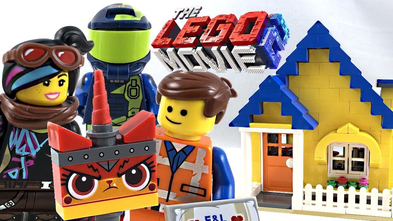 LEGO THE LEGO MOVIE 2 EMMET/'S DREAM HOUSE// RESCUE ROCKET 70831 **