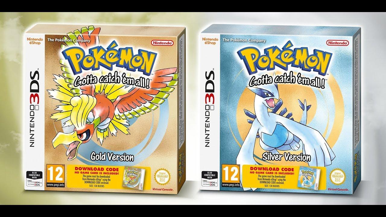 Descargar Pokémon Oro Y Plata Nintendo 3ds Cia