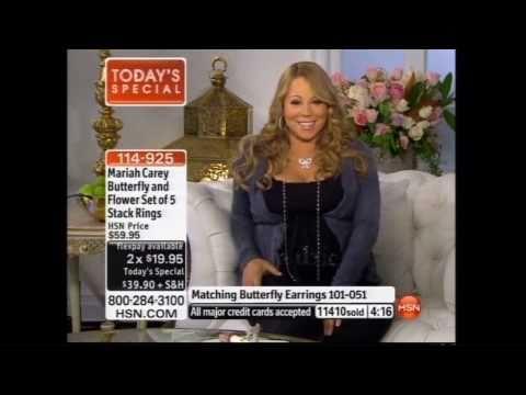 Me Talking to Mariah Carey Live on HSN! (on my birthday!)