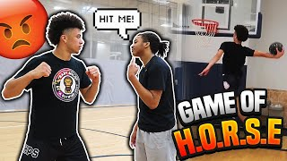 HEATED GAME OF H.O.R.S.E VS TRIOHUNCHO!!