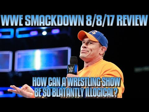 WWE Smackdown Live FULL SHOW Review 8/8/17: JINDER MAHAL VS