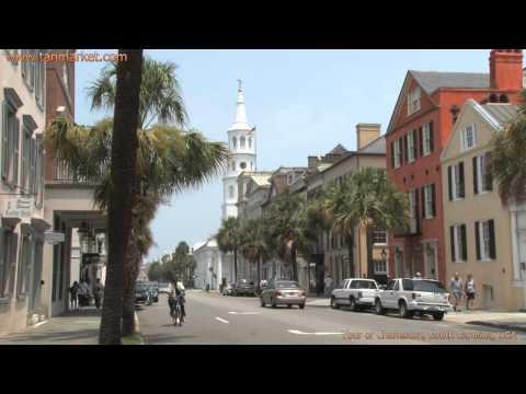 Charleston, South Carolina, USA 1 Collage Video - youtube.com/tanvideo11