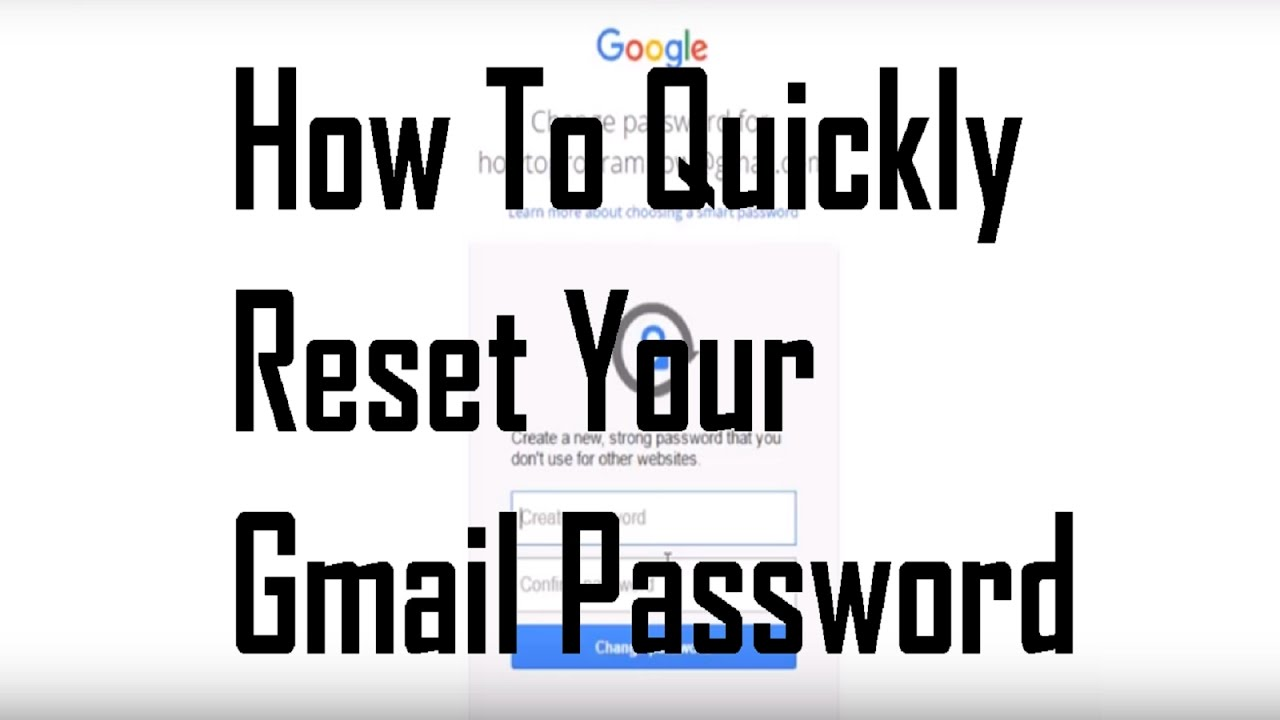 HOW TO RECOVER A GMAIL ACCOUNT PASSWORD WITHOUT A PHONE NUMBER OR ...