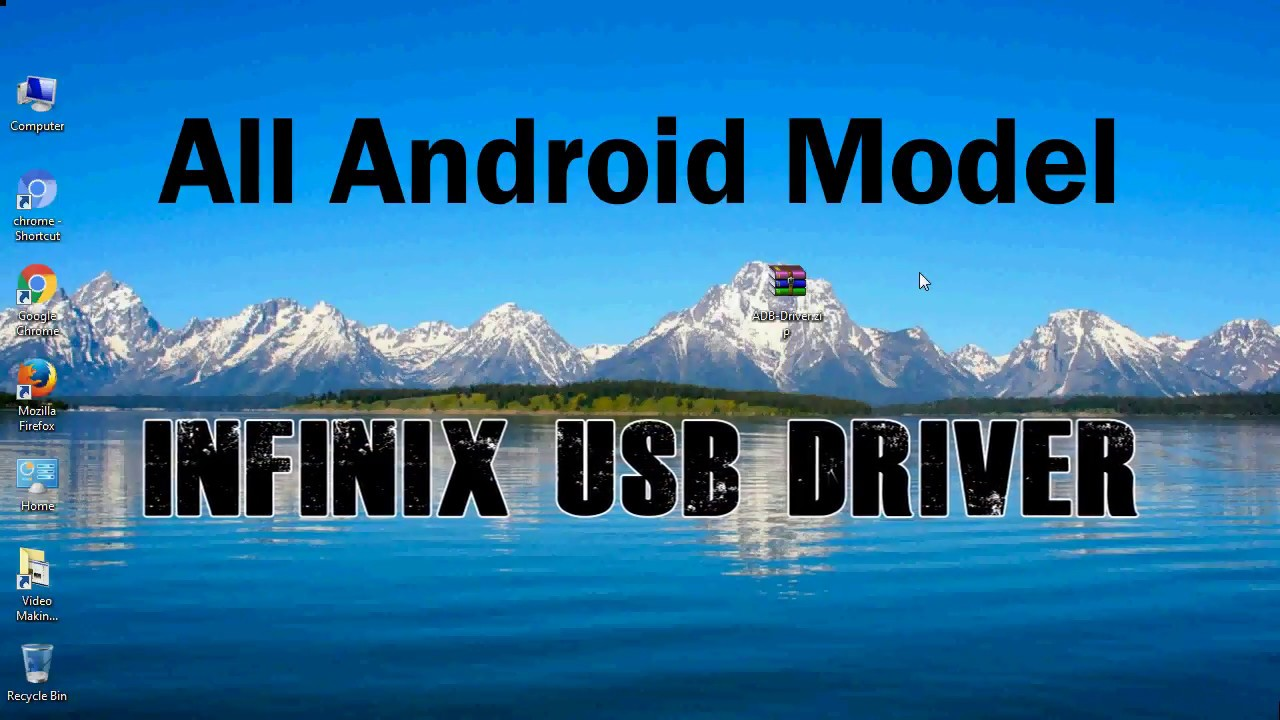 How to Install Infinix USB Driver for Windows | ADB and FastBoot