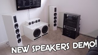 NEW SURROUND SPEAKERS UP LOUD!