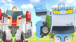 TOBOT English   414 Off Road, Off Key   Season 4 Full Episode   Kids Cartoon   Videos For Kids