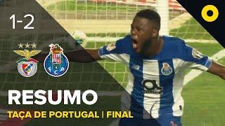 بالفيديو.. بورتو بـ9 لاعبين يتوج بكأس البرتغال