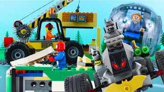 LEGO City Vehicles (COMPILATION 3) STOP MOTION LEGO Fire Truck, Digger & Cars | LEGO | Billy Bricks