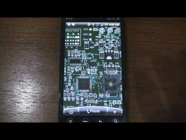 An Android Live Wallpaper That Shows You The Inside Of Your Phone