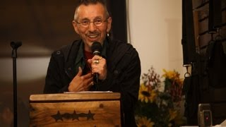 John Trudell Poetry + Talk at KNACKA (VIDEO)
