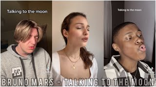 Talking To The Moon Cover🎤❤️🌙   TikTok Singing Compilation