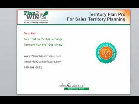 Territory Plan Pro Overview video
