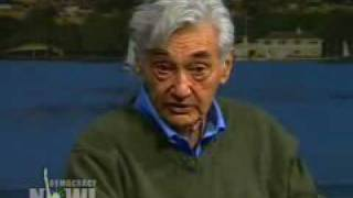 Noam Chomsky and Howard Zinn Democracy Now Interview 1of5