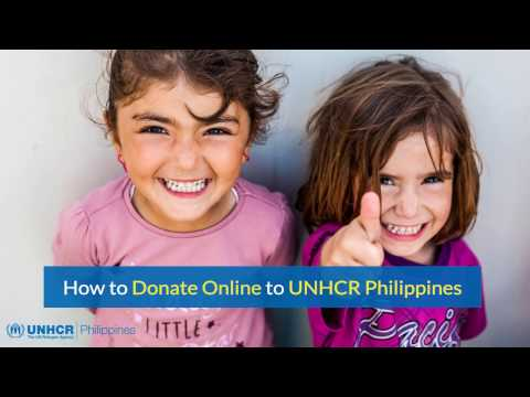 How to donate online