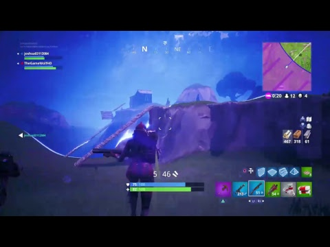 Fortnite pickaxe only sniper shoot-out