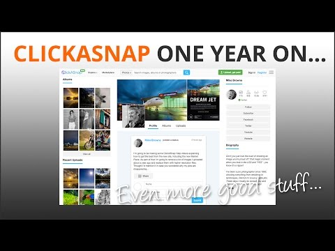 ClickASnap Pay Per View Photo Site - One Year On What's New?