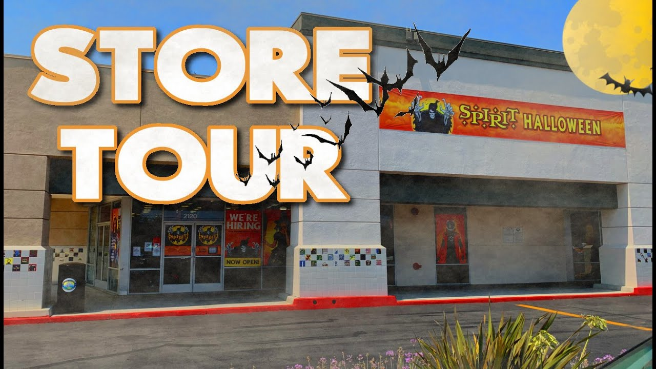 Spirit Halloween 2020 Store Tour Animatronic Demo Shop With Me Youtube