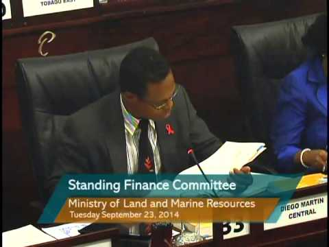 Standing Finance Committee - Ministry of Land and Marine Resources