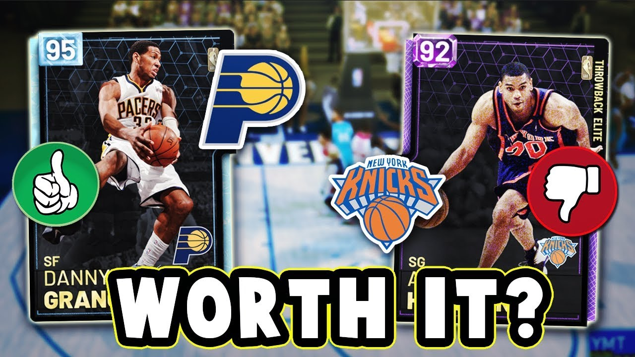size 40 42d5f 404b5 NBA 2K19 WHICH THROWBACK KNICKS & PACERS CARDS ARE WORTH BUYING!! - NBA  2K19 MyTEAM